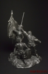 Восстание Комунерос - Оловянный солдатик. Чернение. Высота фигурки 54 мм