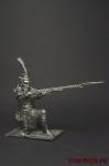 Гренадер линейного полка - Оловянный солдатик. Чернение. Высота фигурки 54 мм
