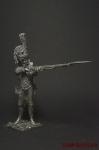 Полк Пеших егерей Старой Императорской гвардии - Оловянный солдатик. Чернение. Высота фигурки 54 мм