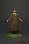 Шерлок Холмс - Оловянный солдатик коллекционная роспись 54 мм. Все фигурки расписываются художником вручную