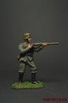 Немецкий пехотинец с винтовкой Mauser 98, 1944-45 - Оловянный солдатик коллекционная роспись 54 мм. Все фигурки расписываются художником вручную