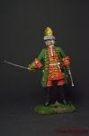 Офицер конно-гренадерского полка 1717-1720 - Оловянный солдатик коллекционная роспись 54 мм. Все фигурки расписываются художником вручную