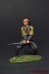 Ронин с катаной - Оловянный солдатик коллекционная роспись 54 мм. Все фигурки расписываются художником вручную