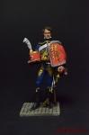Полковник Барон Лежен - Оловянный солдатик коллекционная роспись 54 мм. Все фигурки расписываются художником вручную