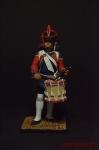Барабанщик артиллерии 1809 - Оловянный солдатик коллекционная роспись 54 мм. Все фигурки расписываются художником вручную