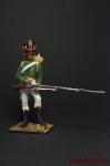 Фланкер-гренадер гвардии 1813 - Оловянный солдатик коллекционная роспись 54 мм. Все фигурки расписываются художником вручную