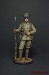 Рядовой пехотного полка. Великобритания, 1914-18 - Оловянный солдатик коллекционная роспись 54 мм. Все фигурки расписываются художником вручную
