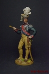 Король Неаполитанский, маршал Франции Иоахим Мюрат. 1810-12 г.г. - Оловянный солдатик коллекционная роспись 54 мм. Все фигурки расписываются художником вручную