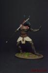 Египетский бог Сет - Оловянный солдатик коллекционная роспись 54 мм. Все фигурки расписываются художником вручную