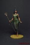 Египетская богиня Исида - Оловянный солдатик коллекционная роспись 54 мм. Все фигурки расписываются художником вручную
