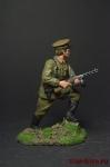 Младший лейтенант Пограничник, 1941 - Оловянный солдатик коллекционная роспись 54 мм. Все фигурки расписываются художником вручную