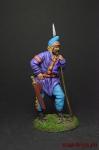 Скиф с копьем - Оловянный солдатик коллекционная роспись 54 мм. Все фигурки расписываются художником вручную