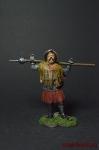 Чешский воин-утраквист с моргенштерном, 15 век - Оловянный солдатик коллекционная роспись 54 мм. Все фигурки расписываются художником вручную