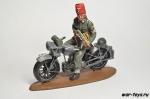 Горная дивизия СС «Ханджар» на мотоцикле NSU 250 C.C