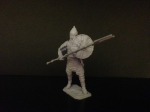 Монгольский военачальник с боевыми вилами, войско Мамая,  Смола,