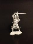 Англичанин - рыцарь с двуручным мечем  Смола, 54 мм.