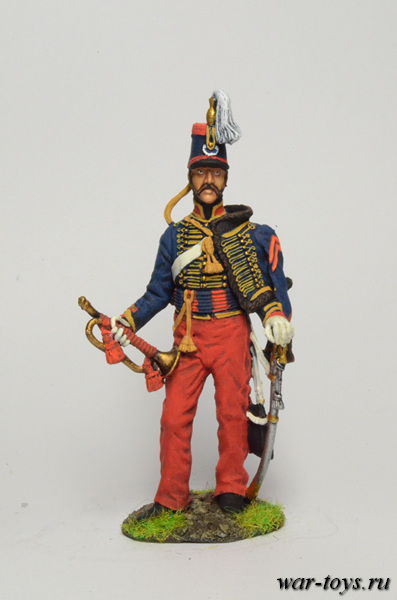 Regular infantry 1812-14 biennium. The drummer in the line